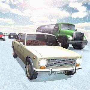 Russian Winter Traffic Racer ������� �� �������