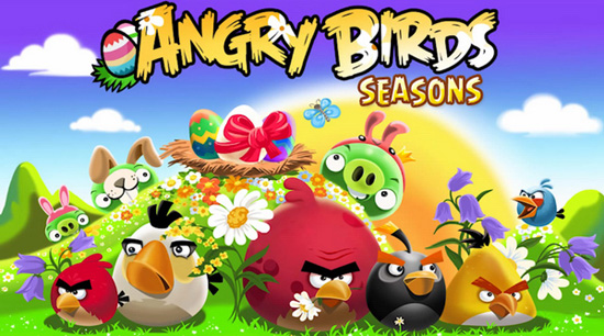 Angry Birds Seasons НD играть онлайн