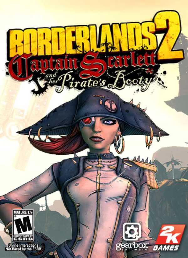 Borderlands 2: Captain Scarlett and her Pirates Booty играть онлайн
