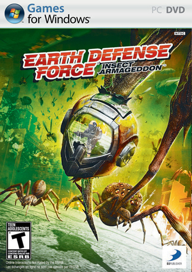 Earth Defense Force: Insect Armageddon играть онлайн