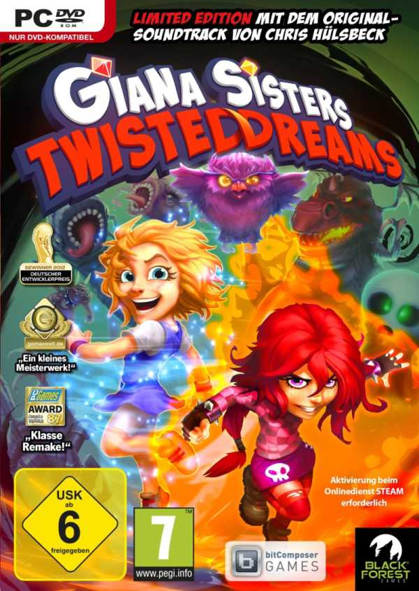 Giana Sisters Twisted Dreams играть онлайн