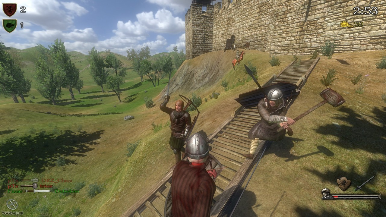 Патч mount blade warband 1.168