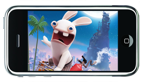 Rabbids Go Phone играть онлайн