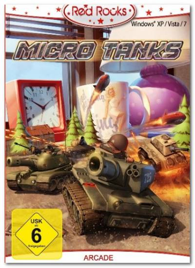 Red Rocks - Micro Tanks играть онлайн