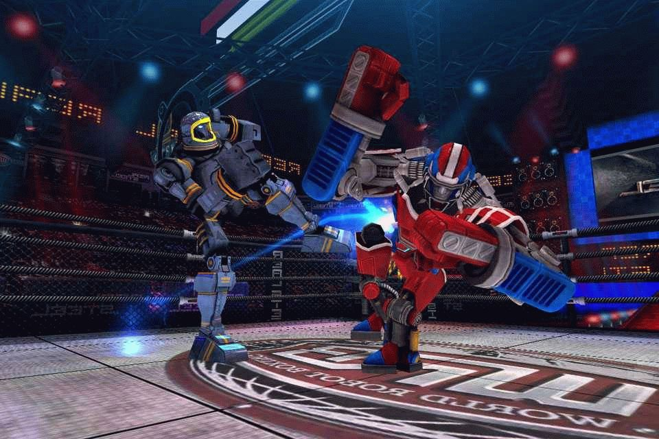 Скачать Real Steel World Robot Boxing для android бесплатно