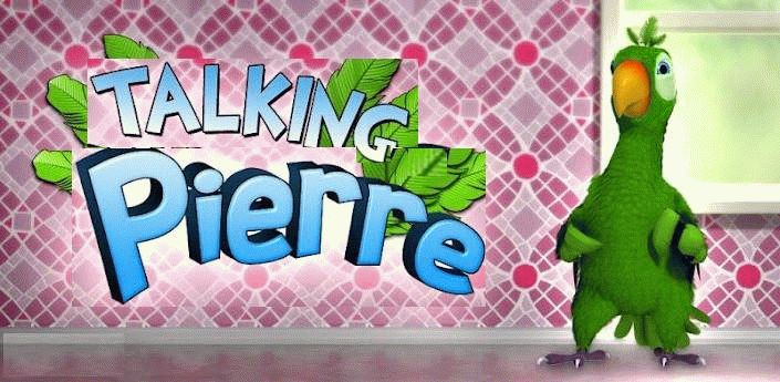 Talking Pierre the Parrot для android бесплатно