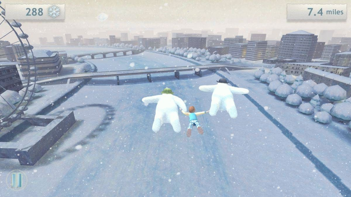 Скачать The Snowman and The Snowdog для android бесплатно