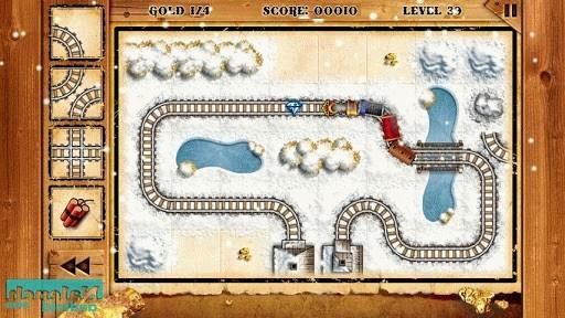 Скачать Train of Gold Rush для android бесплатно