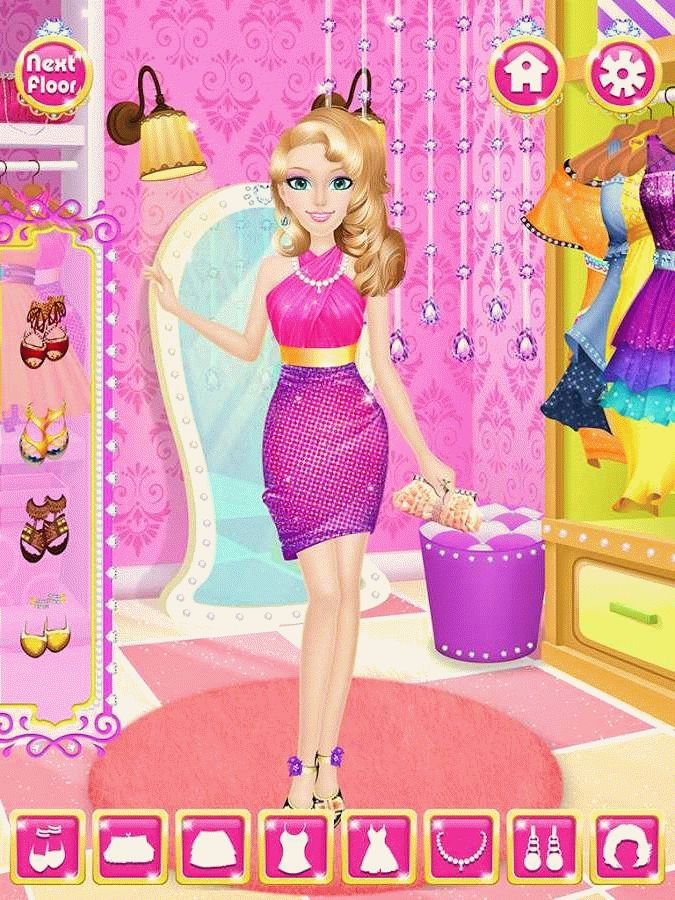 Скачать Princess beauty spa salon для android бесплатно