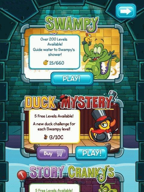 Скачать Where's my water Mystery DUCK для android бесплатно