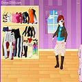 Оденьте Долли Dolly Dressup играть онлайн