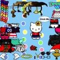 Одеть Dress up Hello Kitty 3 играть онлайн