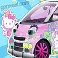 Привет Китти Автомобиль Hello Kitty Car играть онлайн