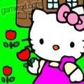 Привет Китти Сад Hello Kitty In The Tullip Garden играть онлайн