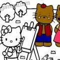 Живопись Hello Kitty Painting играть онлайн