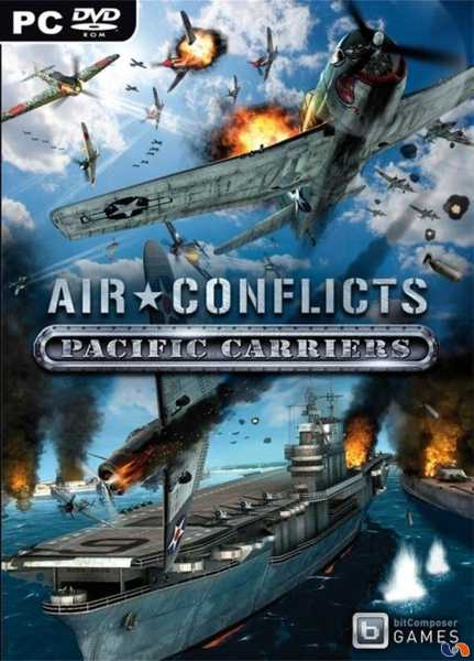 Air Conflicts: Pacific Carriers играть онлайн