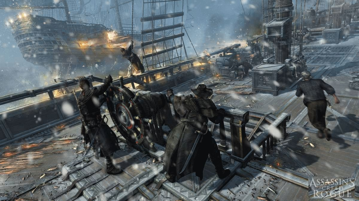 Скачать Assassins Creed: Rogue для PC бесплатно