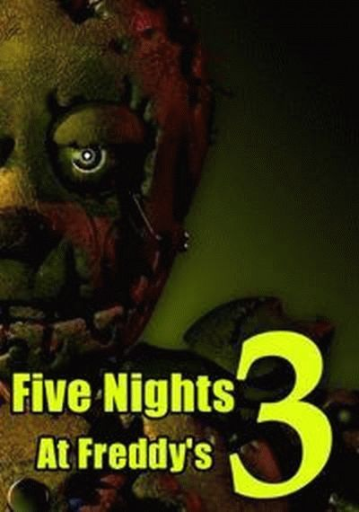 Five Nights at Freddy's 3 играть онлайн