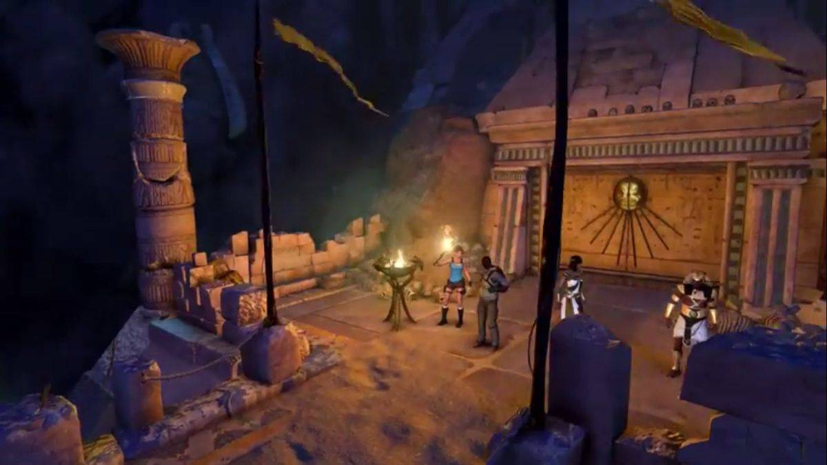 Скачать Lara Croft and The Temple of Osiris для PC бесплатно