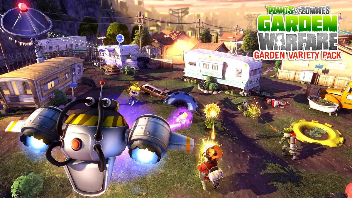 Скачать Plants vs Zombies Garden Warfare для PC бесплатно