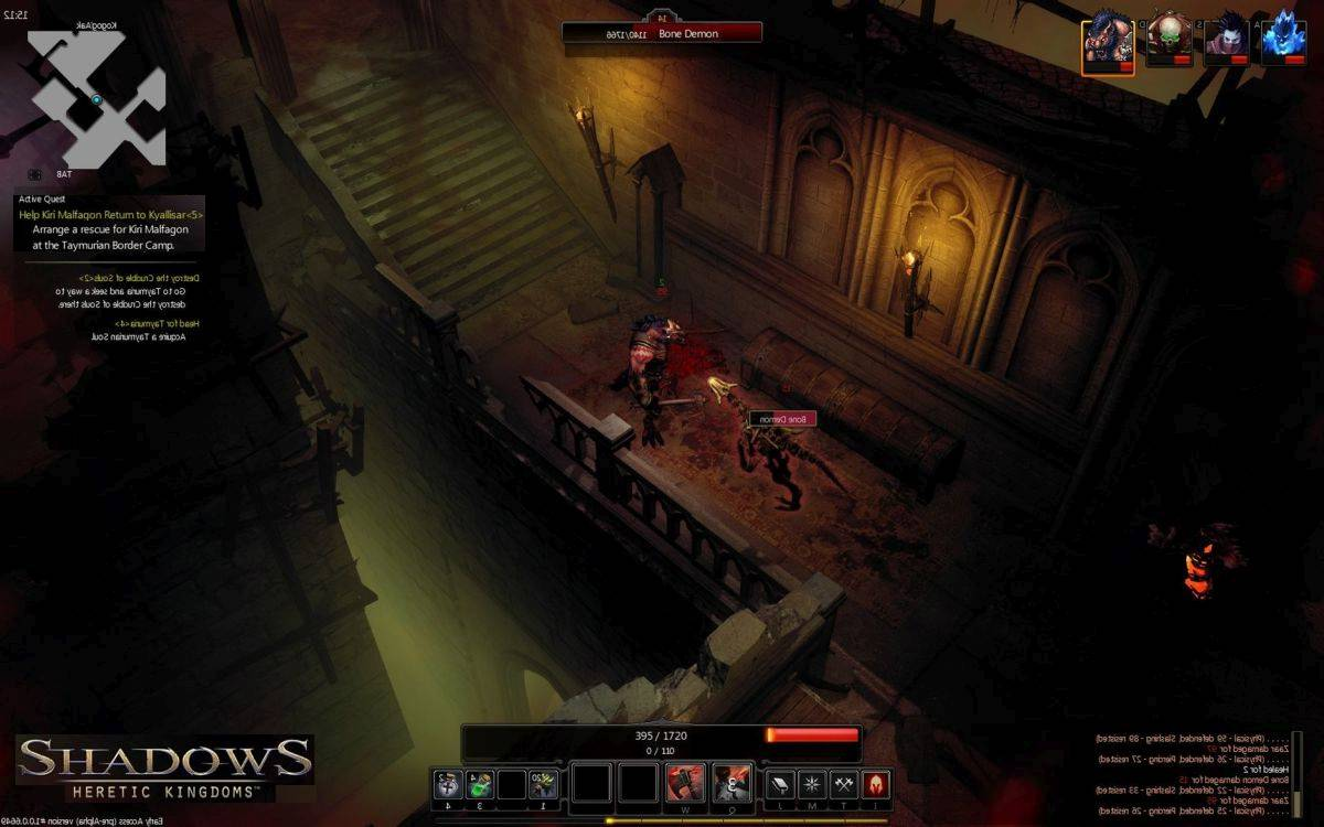Скачать Shadows: Heretic Kingdoms Book One Devourer of Souls для PC бесплатно