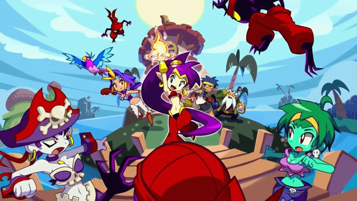 Скачать Shantae and the Pirate's Curse для PC бесплатно