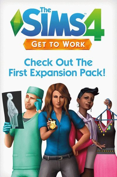 The Sims 4: Get to Work играть онлайн