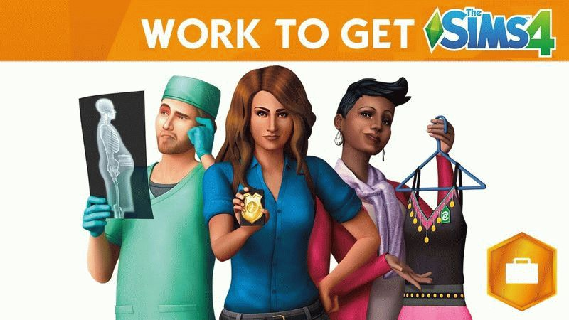 The Sims 4: Get to Work для PC бесплатно