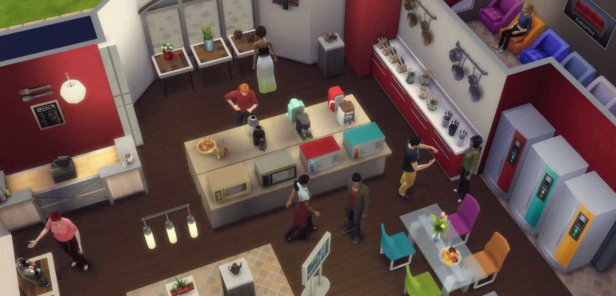 Скачать The Sims 4: Get to Work для PC бесплатно