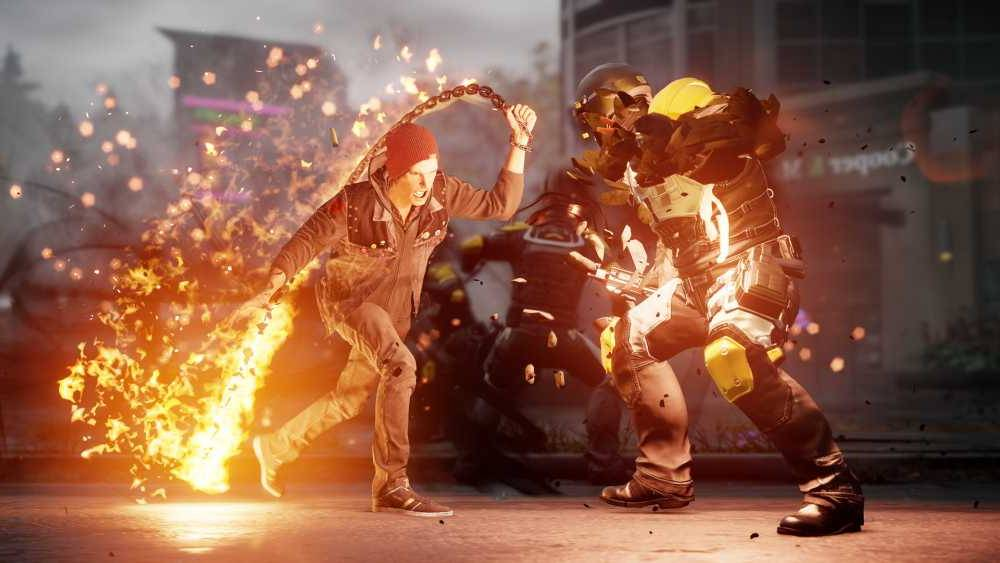 Скачать inFAMOUS: Second Son для PC бесплатно